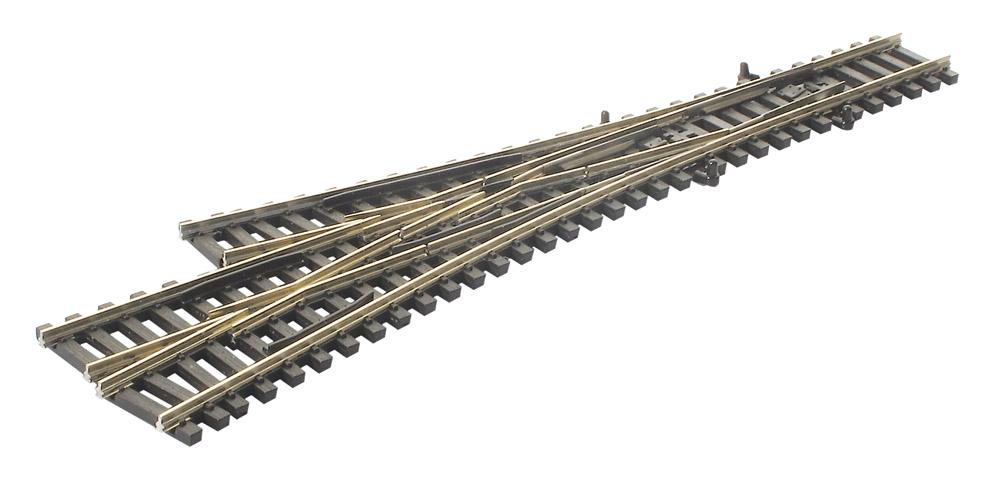 N Code 55 - 3-Weg-Weiche, Länge 153mm - Peco SLE399F  - Radius 457 mm | günstig bestellen bei Weinert-Bauteile