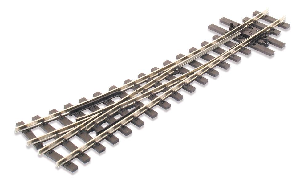 H0e Weiche rechts, 14°, R=457mm - Peco SLE495 mit leitendem Herzstück | günstig bestellen bei Weinert-Bauteile
