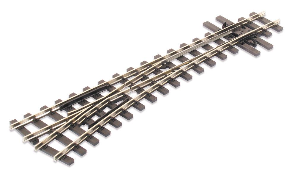 H0e Weiche links, 14°, R=457mm - Peco SLE496 mit leitendem Herzstück | günstig bestellen bei Weinert-Bauteile
