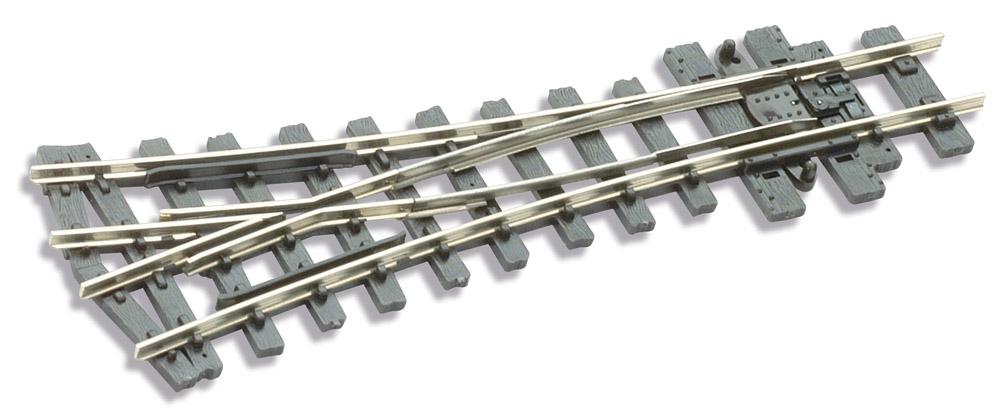 H0e Y-Weiche 22,5° - Peco SLE497 mit leitendem Herzstück | günstig bestellen bei Weinert-Bauteile