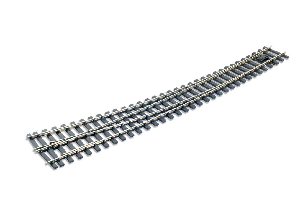 Spur 0 Code 124 Bogenweiche 8° rechts, L=516mm - Peco SLE786BH  | günstig bestellen bei Weinert-Bauteile