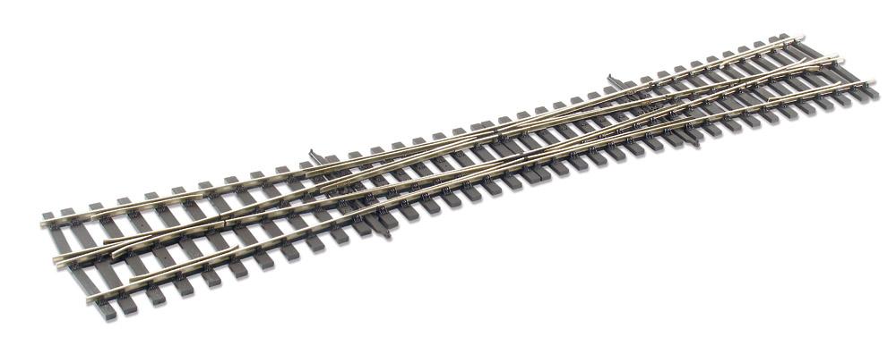 Spur 0 Code 124 DKW 8° links, L=584mm - Peco  | günstig bestellen bei Weinert-Bauteile