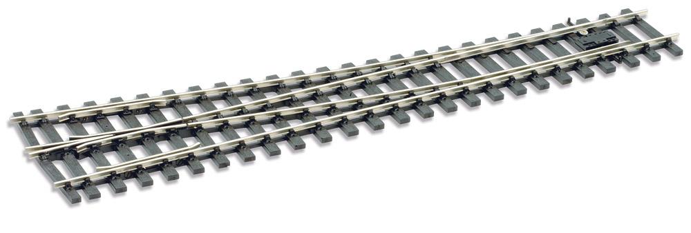 Spur 0 Code 124 Weiche 8° rechts, L=416mm - Peco SLE791BH  | günstig bestellen bei Weinert-Bauteile