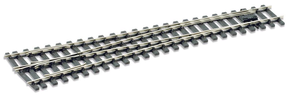 Spur 0 Code 124 Weiche 8° links, L=416mm - Peco SLE792BH  | günstig bestellen bei Weinert-Bauteile