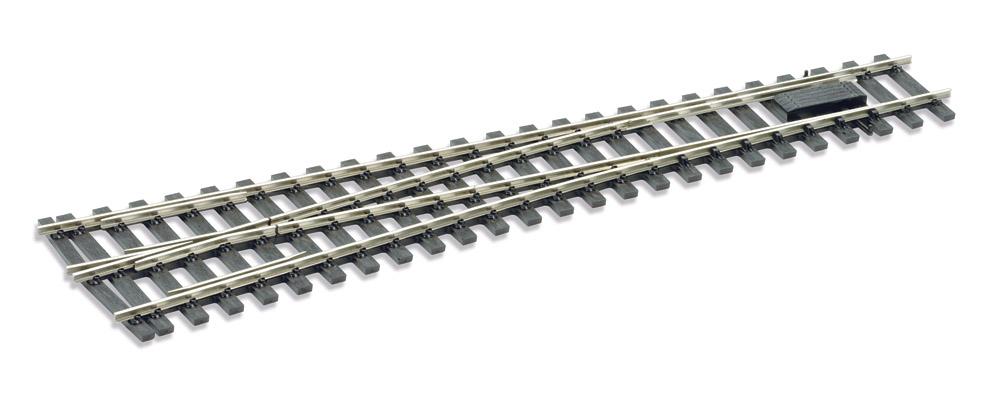 Mehr Details und Kaufen von Spur 0 Code 143 - 8° Weiche rechts, Länge 416 mm - Peco SLE791FB Mittlerer Radius 1828 mm | günstig bestellen bei Weinert-Bauteile