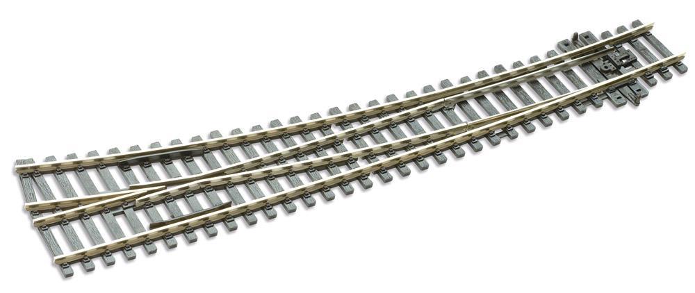 Mehr Details und Kaufen von H0 Code E86 12° Bogenweiche rechts ; Länge 256 mm - Peco SLE86 Außenradius 1524 mm ; Innenradius 762 mm | günstig bestellen bei Weinert-Bauteile