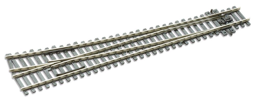 Mehr Details und Kaufen von H0 Code 100 12° Weiche rechts ; Länge 258 mm - Peco SLE88 Großer Radius 1524 mm | günstig bestellen bei Weinert-Bauteile