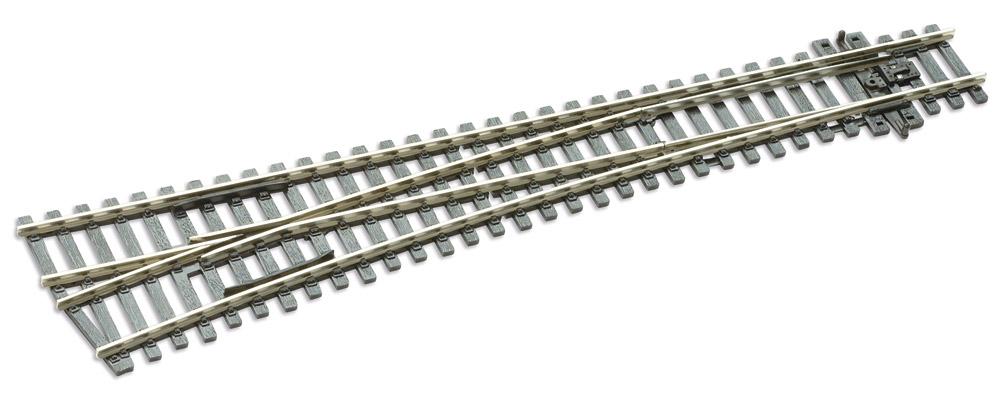 Mehr Details und Kaufen von H0 Code 100 Weiche links, lang - Peco  SLE89 Großer Radius 1524 mm | günstig bestellen bei Weinert-Bauteile