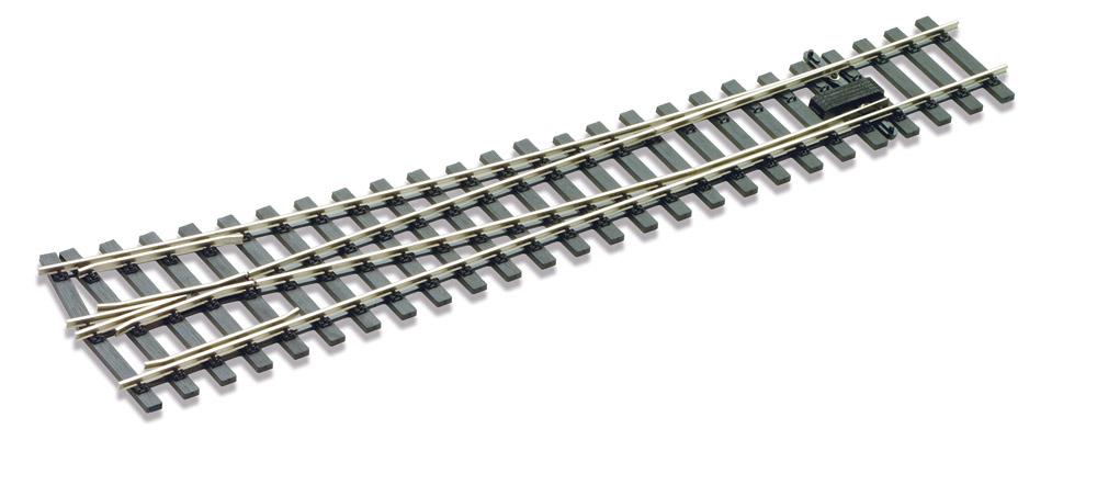 Mehr Details und Kaufen von Spur 1 Code 200 Weiche 10° rechts - Peco SLE895  | günstig bestellen bei Weinert-Bauteile