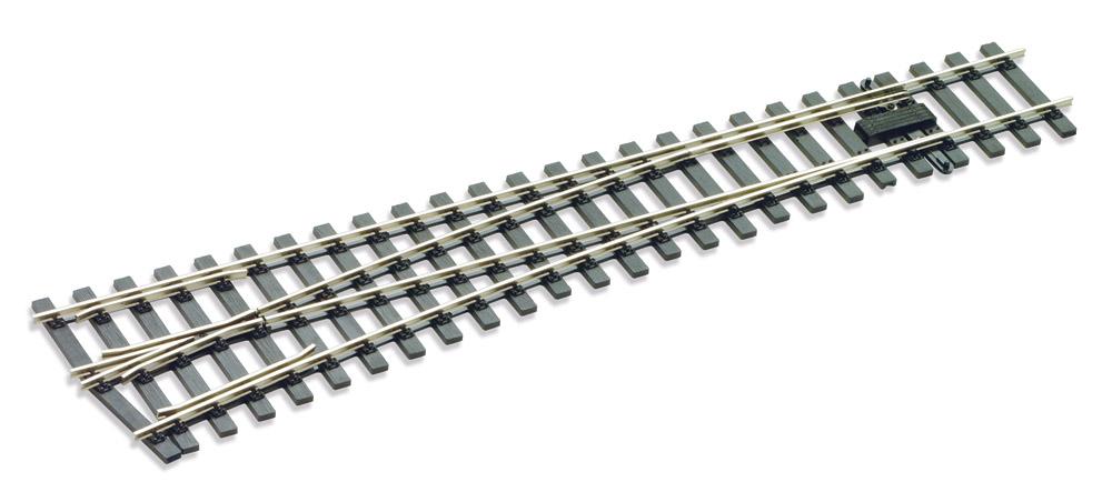 Mehr Details und Kaufen von Spur 1 Code 200 Weiche 10° links- Peco SLE896  | günstig bestellen bei Weinert-Bauteile
