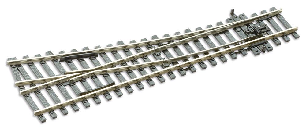 Mehr Details und Kaufen von H0 Code 100 12° Weiche rechts ; Länge 185 mm - Peco SLE91 Kleiner Radius 610 mm | günstig bestellen bei Weinert-Bauteile