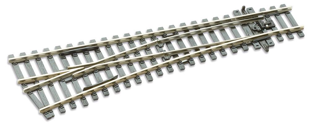 Mehr Details und Kaufen von H0 Code 100 12° Weiche links ; Länge 185 mm - Peco SLE92 Kleiner Radius 610 mm | günstig bestellen bei Weinert-Bauteile