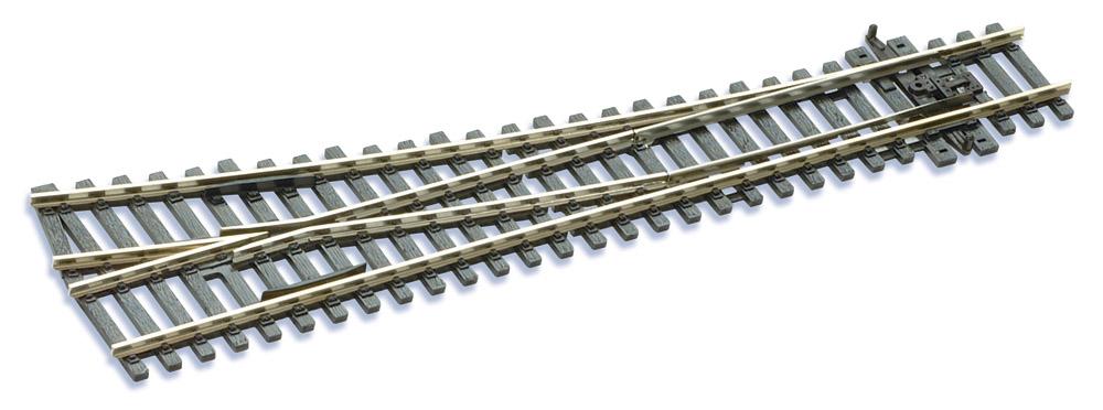 Mehr Details und Kaufen von H0 Code 100 12° Weiche rechts ; Länge 219 mm - Peco SLE95 Mittlerer Radius 914 mm | günstig bestellen bei Weinert-Bauteile