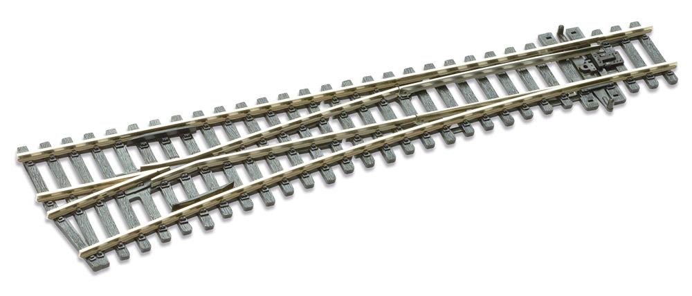 Mehr Details und Kaufen von H0 Code 100 12° Weiche links ; Länge 219 mm - Peco SLE96 Mittlerer Radius 914 mm | günstig bestellen bei Weinert-Bauteile