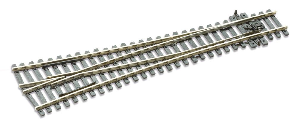 Mehr Details und Kaufen von H0 Code 100 12° Y-Weiche ; Länge 220 mm - Peco SLE98 Großer Radius 1828 mm | günstig bestellen bei Weinert-Bauteile