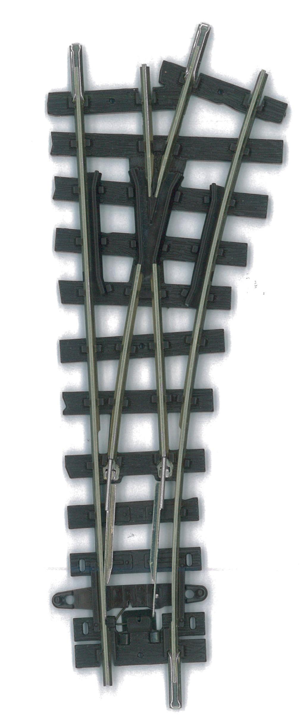 H0e Weiche kurz rechts, R=228mm - Peco  | günstig bestellen bei Weinert-Bauteile