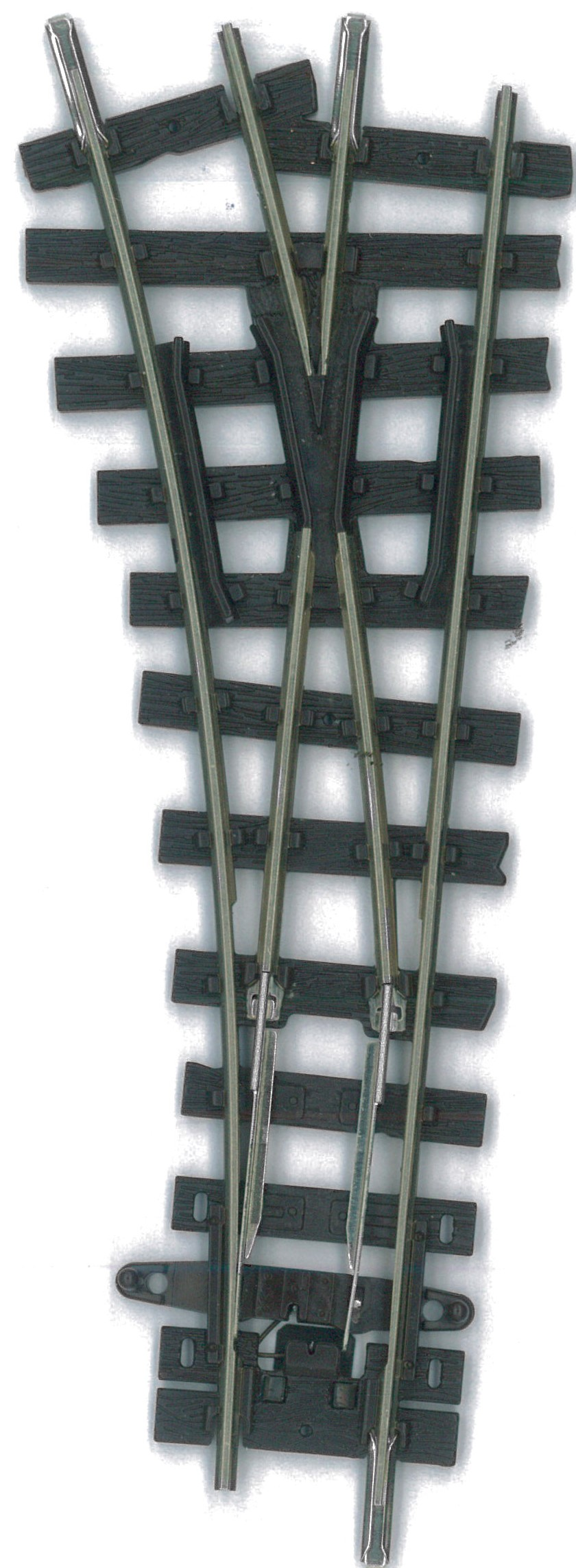 H0e Weiche kurz links, R=228mm - Peco  | günstig bestellen bei Weinert-Bauteile