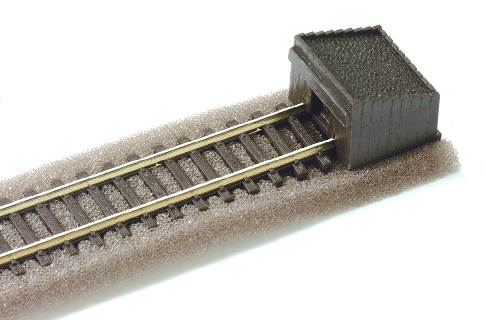 N Code 80 - Holzbohlen-Prellbock, 2 Stück - Peco ST8  | günstig bestellen bei Weinert-Bauteile