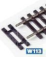 Mehr Details und Kaufen von H0 ausgesparte Schwellen für Schienenverbinder, 15 Paar - Peco  | günstig bestellen bei Weinert-Bauteile