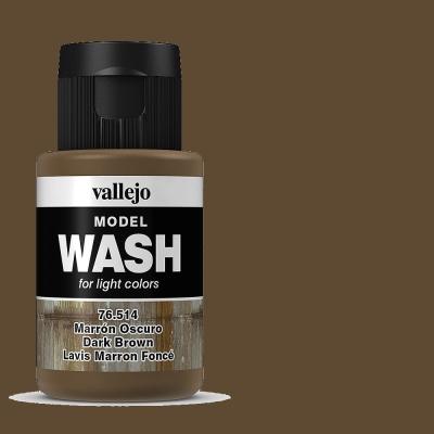 Alterungsfarbe dunkles braun- Vallejo Washes  | günstig bestellen bei Weinert-Bauteile