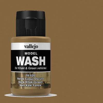 Alterungsfarbe dunkels Khakigrün - Vallejo Washes  | günstig bestellen bei Weinert-Bauteile