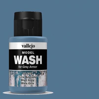 Alterungsfarbe blaugrau - Vallejo Washes - für metallische Teile  | günstig bestellen bei Weinert-Bauteile