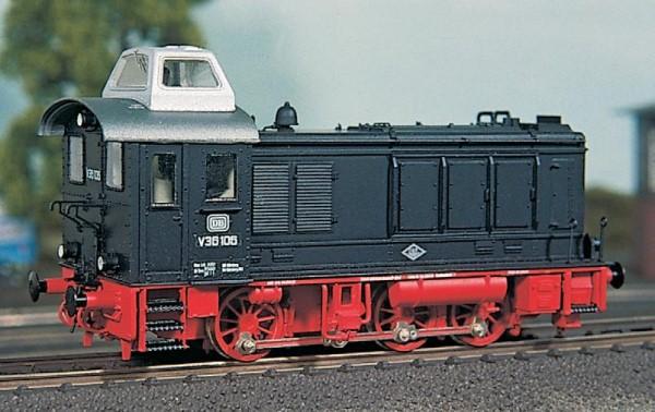 DB V36.1-2 mit Kanzel-Aufbau, Bausatz mit Faulhaber-Motor – Weinert  - mit RP25-Radsätzen | günstig bestellen bei Weinert-Bauteile