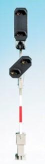 1:87 Licht-Einfahrsignal mit Vorsignal - Weinert 0416  - beleuchtete Ausführung als Bausatz | günstig bestellen bei Weinert-Bauteile