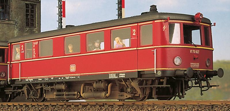 DRG Ep.2 und DB Ep.3 VT 70 918-951 Triebwagen - Weinert 100101 - mit RP25 Radsätzen + Faulhaber-Motor | günstig bestellen bei Weinert-Bauteile