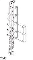 1:87 Stummelgittermast 4m Vorbildhöhe - Weinert 2045  | günstig bestellen bei Weinert-Bauteile