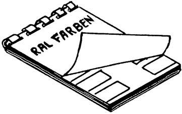 RAL-Farbkarte - Weinert 2347  | günstig bestellen bei Weinert-Bauteile