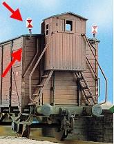 Spur 0 Zugschlußscheiben 8 x Zg.3, 2 x Zg.4, Bausatz- Weinert 2520  | günstig bestellen bei Weinert-Bauteile