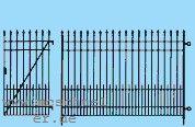 Spur 0 Fabrikzaun ohne Tore, L= ca. 55cm, Messingätzteil- Weinert 2529  | günstig bestellen bei Weinert-Bauteile