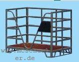 Spur 0 Boxpalette, fertig gekantet, MS-Ätzteil, Bausatz- Weinert 2548  | günstig bestellen bei Weinert-Bauteile