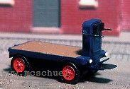 Spur 0 AEG-Elektrobahnsteigkarre Ep. 2-4, Weissmetall-Messing, Bausatz - Weinert 2551  | günstig bestellen bei Weinert-Bauteile