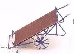 N Zweirädrige Gepäckkarre, Messing-Ätzteile- Weinert 6933  | günstig bestellen bei Weinert-Bauteile
