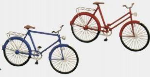 N Fahrräder, je 2 x Damen- und Herrenrad - Weinert 6953 Bausatz | günstig bestellen bei Weinert-Bauteile