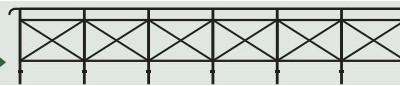 Spur 0 Gitter für Brücken, L=84cm - Weinert 25671  | günstig bestellen bei Weinert-Bauteile