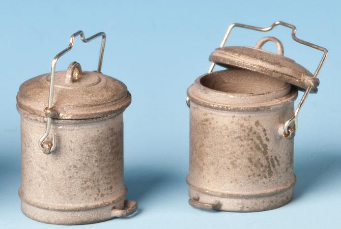 Spur 0 Mülltonnen der 50er und 60er Jahre, 3 Stück - Weinert 25686  | günstig bestellen bei Weinert-Bauteile