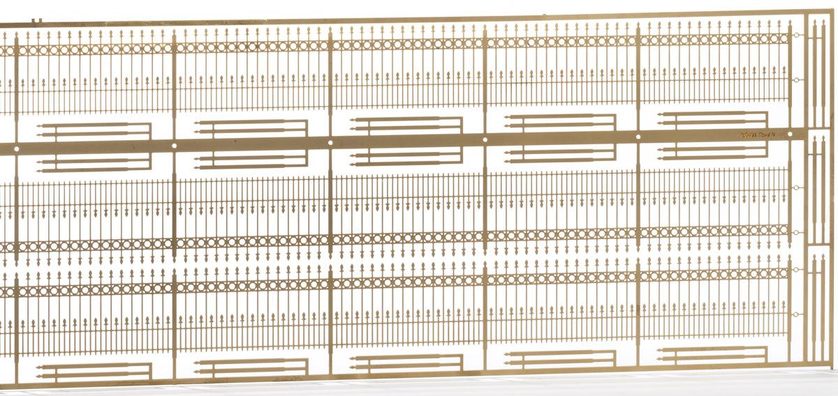 Spur 0 Schmiedeeisener Zaun, L=105cm - Weinert 25691  | günstig bestellen bei Weinert-Bauteile