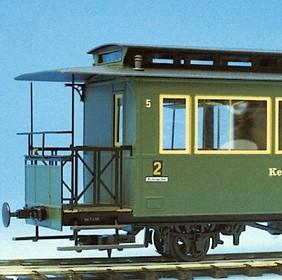 Spur 0e Personenwagen 2-achsig - Weinert 25751  - Komplettbausatz mit Magic-Train-Fahrwerk | günstig bestellen bei Weinert-Bauteile