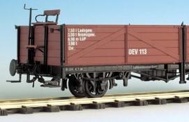 Spur 0e offener Güterwagen 2-achsig - Weinert 25811  - Komplettbausatz mit Magic-Train-Fahrwerk | günstig bestellen bei Weinert-Bauteile