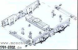 Spur 0e Schmalspurwg.-Drehgestelle mit Rädern, 2 Stück- Weinert 2701  | günstig bestellen bei Weinert-Bauteile