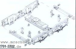 Spur 0m Schmalspurwg.-Drehgestelle mit Rädern, 2 Stück- Weinert 2702  | günstig bestellen bei Weinert-Bauteile