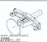 Spur 0 Mittelpuffer-Kupplung abgefedert, 2 Stück- Weinert 2705  | günstig bestellen bei Weinert-Bauteile
