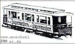 Spur 0e-0m Beschriftungssatz Jägermeister- Weinert 2781  | günstig bestellen bei Weinert-Bauteile