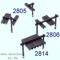 Spur 0 Rollenhalter 6-fach, 6 Stück, Bausatz- Weinert 2806  | günstig bestellen bei Weinert-Bauteile