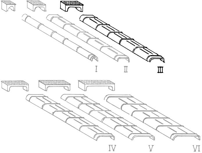 Spur 0 Blechkanäle Grösse 3, 10 Stück, Weissmetall - Weinert 28073  | günstig bestellen bei Weinert-Bauteile