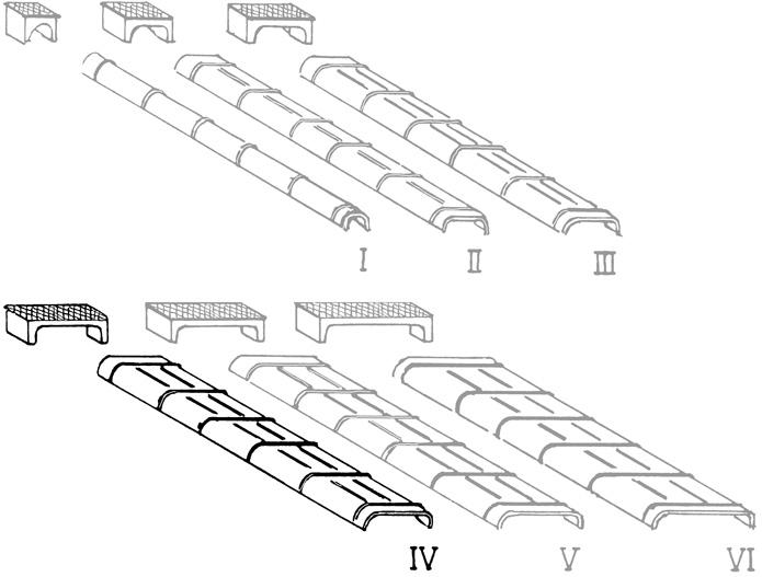 Spur 0 Blechkanäle Grösse 4, 10 Stück, Weissmetall - Weinert 28074  | günstig bestellen bei Weinert-Bauteile