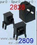 Spur 0 Druckrollenkästen oberirdisch, 3 Gr.I, 1xGr.II, Messingguss - Weinert 2809  | günstig bestellen bei Weinert-Bauteile